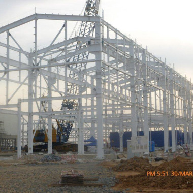 Installation of Mechanical Equipment for Power Plants