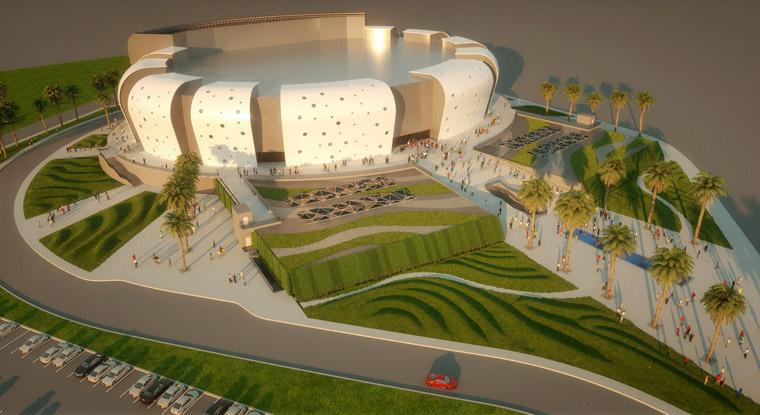 Multi-Purpose Hand Ball Stadium – Duhail, Qatar